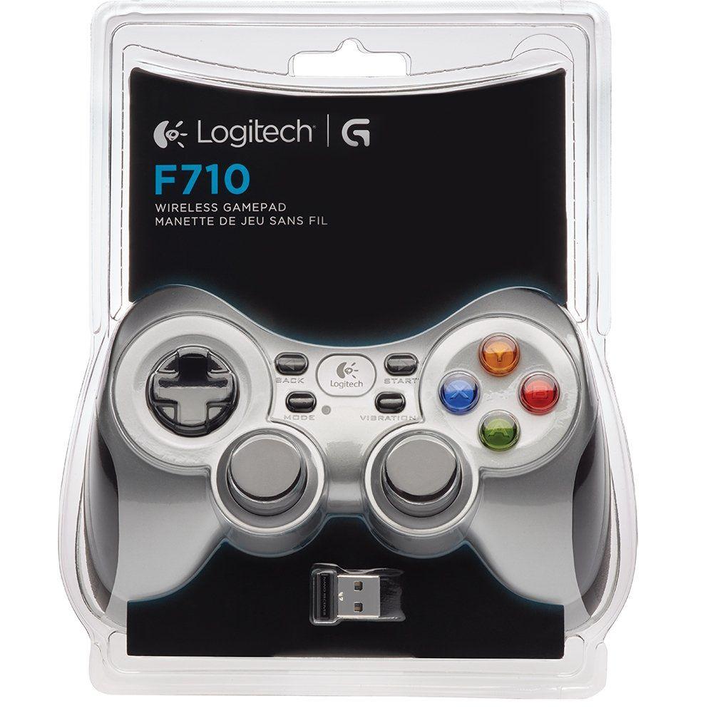 Controle F710 Sem Fio PC/TV 940-000117 Logitech