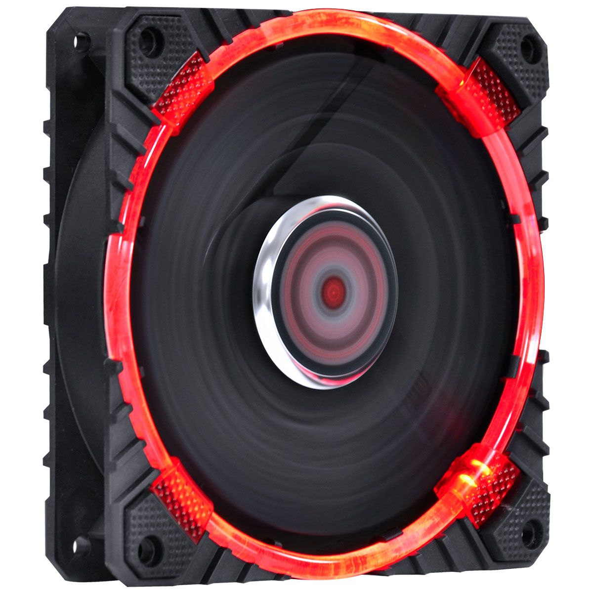 Cooler para Gabinete 120mm Calafrio com LED Vermelho FCAL120LDVM 27122 - Pcyes