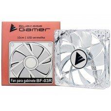 Cooler para Gabinete 120mm LED Vermelho BF-03R - Bluecase
