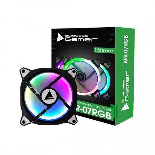 Cooler Para Gabinete 120mm RGB BFR-07RGB - Bluecase Gamer