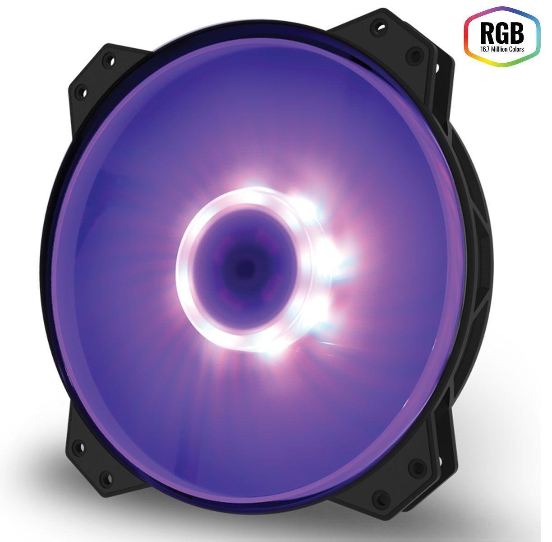 Cooler para Gabinete 200mm Masterfan MF200R RGB R4-200R-08FC-R1 - Coolermaster