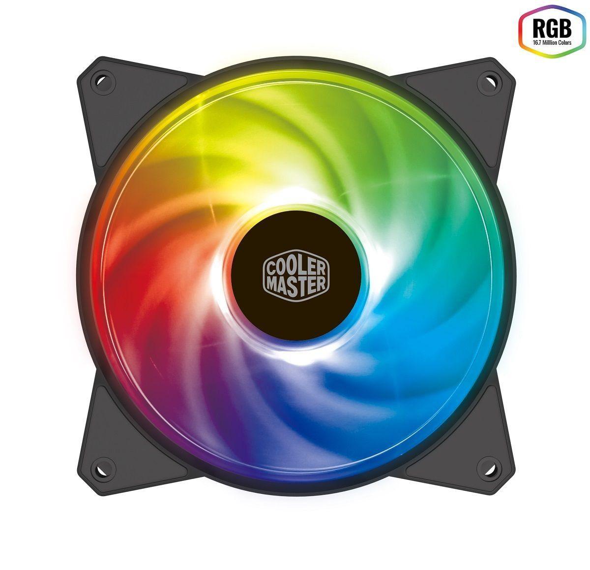 Cooler para Gabinete MF120R 120mm RGB R4-C1DS-20PC-R1- Coolermaster