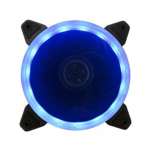 Cooler para Gabinete Ring 120mm Azul BFR-05B - Bluecase