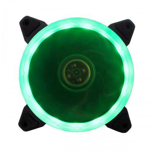Cooler para Gabinete Ring 120mm Verde BFR-05G - Bluecase