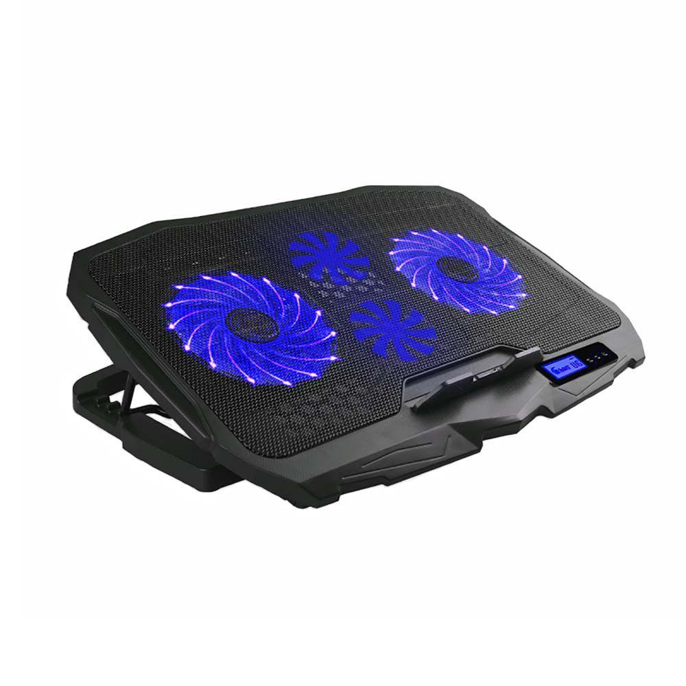 Cooler para Notebook Warrior Ingvar Gamer com LED Azul (4 Ventoinhas) AC332 - Multilaser