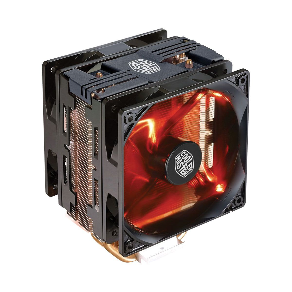 Cooler para Processador Hyper 212 Turbo com LED Vermelho Black Cover RR-212TK-16PR-R1 - Coolermaster