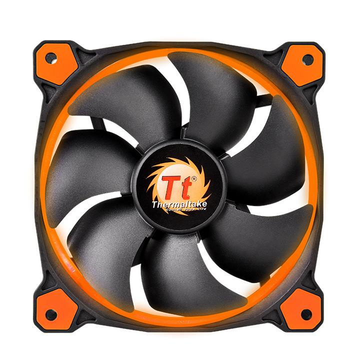 Cooler Riing 12 Orange 1500RPM CL-F038-PL12OR-A - Thermaltake