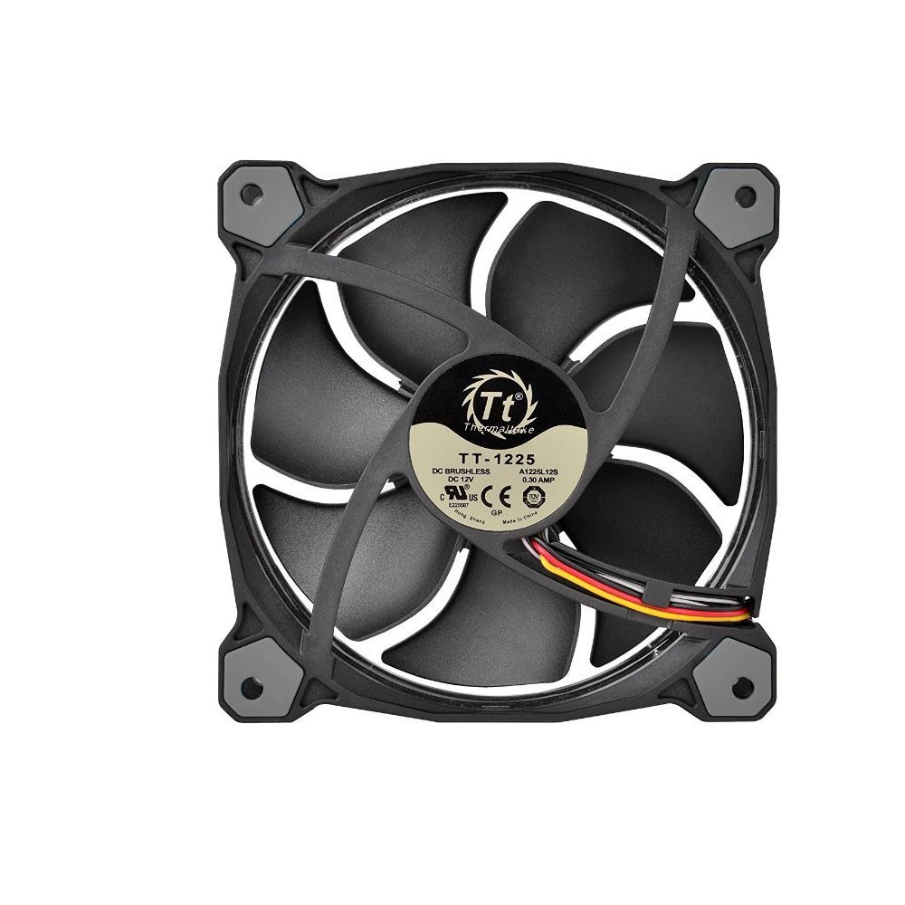 Cooler Riing 12 White 1500RPM CL-F038-PL12WT-A - Thermaltake