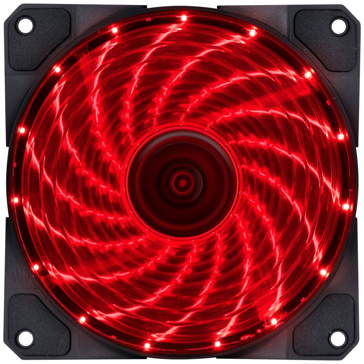 Cooler VX Gaming V.Lumi 15 pontos Led Vermelho 120x120 29562 - Vinik