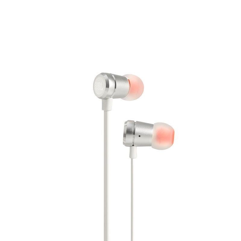 Fone de Ouvido Auricular com Microfone T290 Branco/Prata JBLT290SIL - JBL
