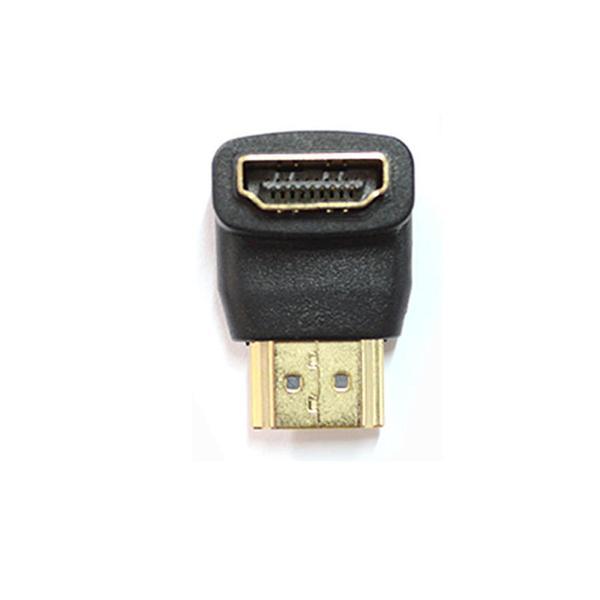 Emenda HDMI Macho Para Femea 90 Graus hdmi 90 graus AD0104 - OEM