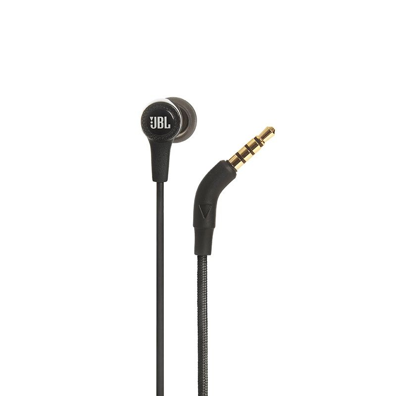 Fone de Ouvido Auricular com Microfone E15 Preto JBLE15BLK - JBL