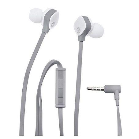 Fone de Ouvido Auricular com Microfone e controle H2310 Cinza/Branco - HP