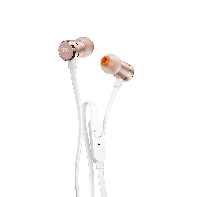 Fone de Ouvido Auricular com Microfone T290 Branco/Dourado JBLT290CGD - JBL