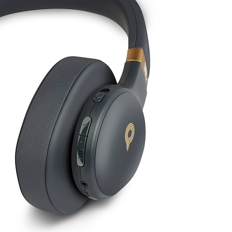 Fone de Ouvido Bluetooth E55BT Quincy Edition Preto/Dourado JBLE55BTQEBLK - JBL