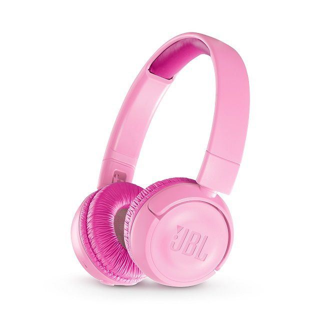 Fone de Ouvido Bluetooth JR 300BT Rosa (Audio Seguro para Crianças) JBLJR300BTPIK - JBL