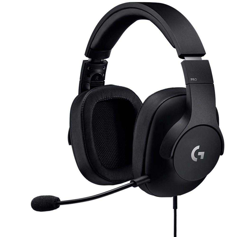 Fone de Ouvido com Microfone G PRO USB Surround Preto 981-000720 - Logitech