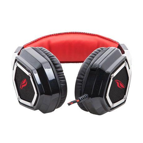 Fone de Ouvido com Microfone Gamer Crow PH-G100BK - C3 Tech