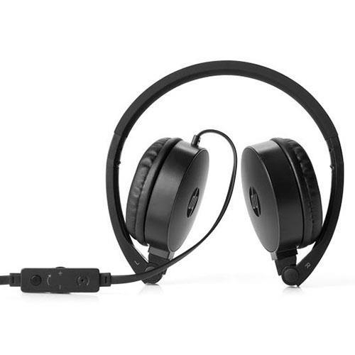 Fone de Ouvido com Microfone H2800 Dobrável Preto - HP