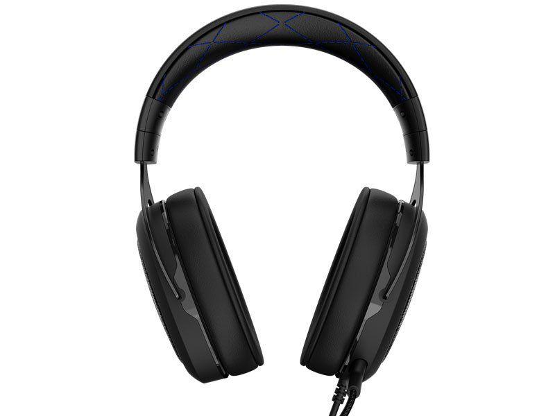 Fone de Ouvido com Microfone HS50 Stereo Blue CA-9011172-NA - Corsair