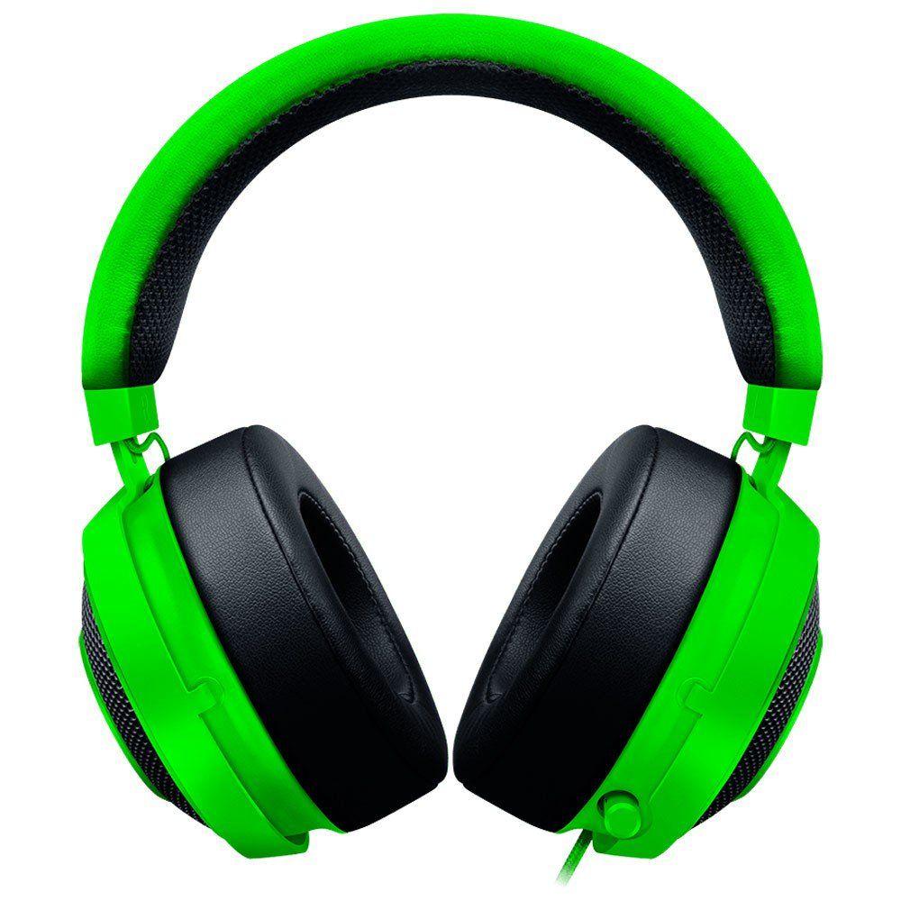 Fone de Ouvido com Microfone Kraken PRO V2 VERDE RZ04-02050600-R3U1 - Razer