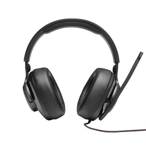 Fone de Ouvido com Microfone Quantum 300 Preto JBLQUANTUM300BLK - JBL