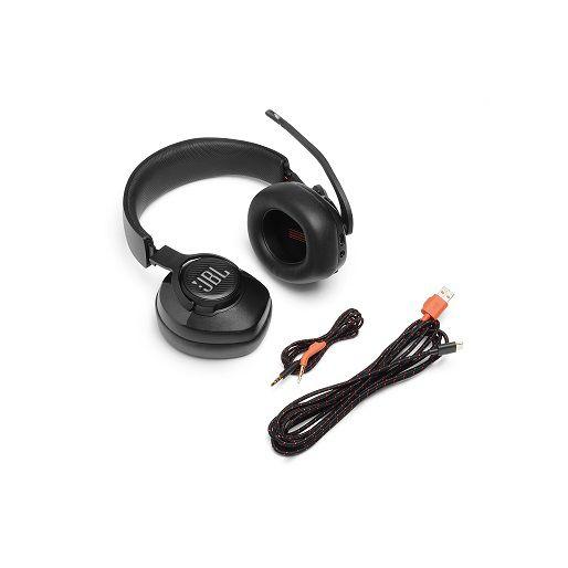 Fone de Ouvido com Microfone Quantum 400 RGB JBLQUANTUM400BLK - JBL