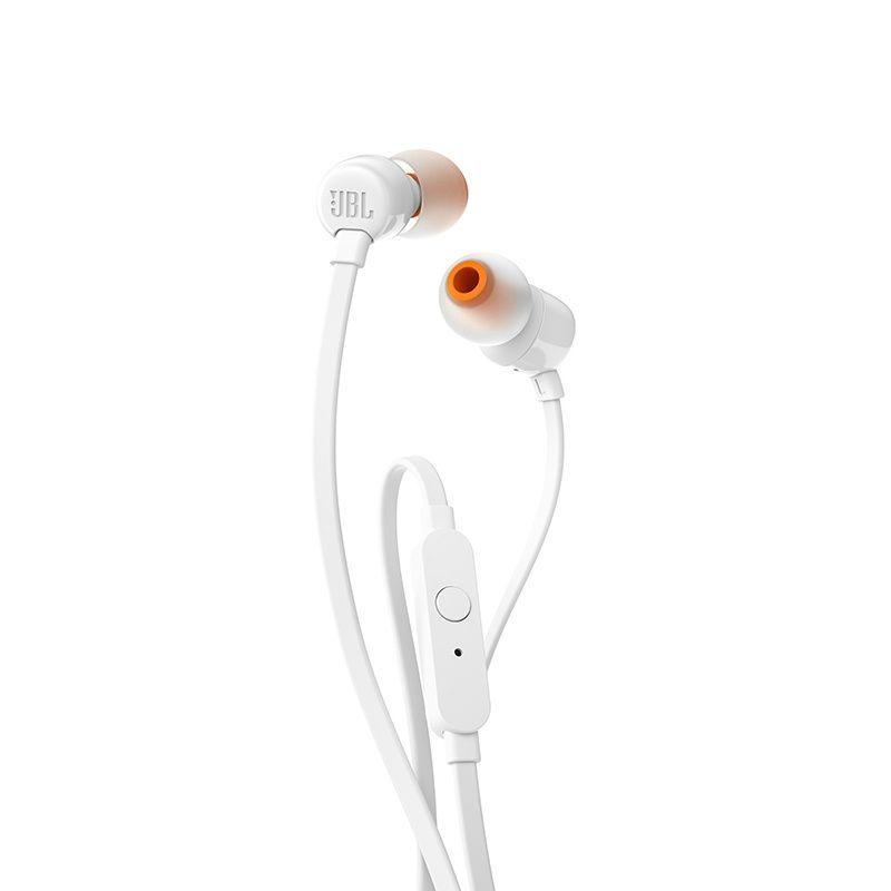 Fone de Ouvido com Microfone T110 Branco JBLT110WHT - JBL