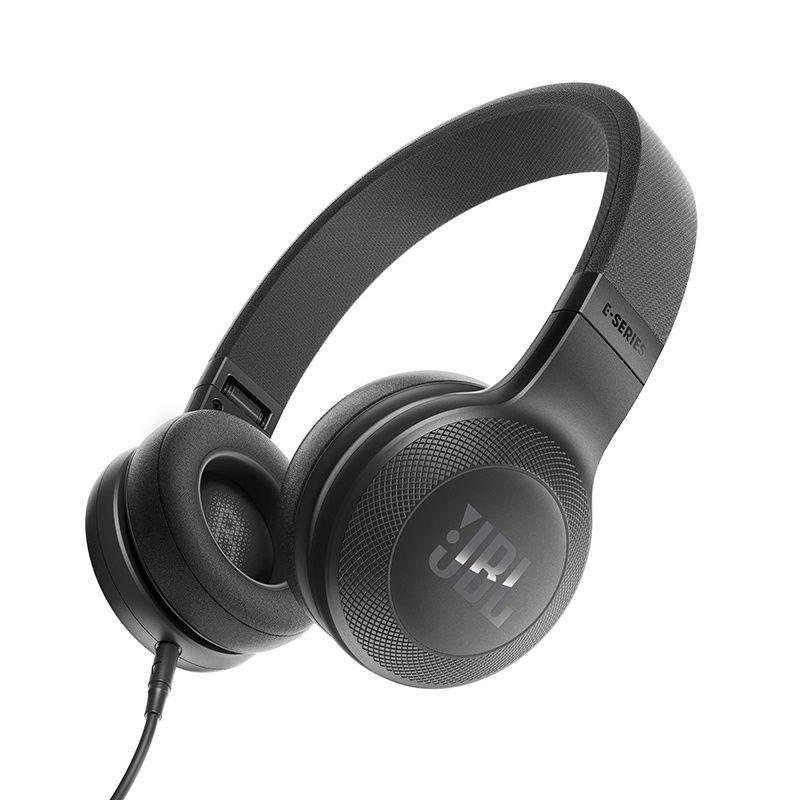 Fone de Ouvido E35 com Microfone Preto JBLE35BLK - JBL