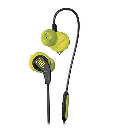 Fone de Ouvido Esportivo Auricular Endurance RUN Preto/Amarelo JBLENDURRUNBNL - JBL