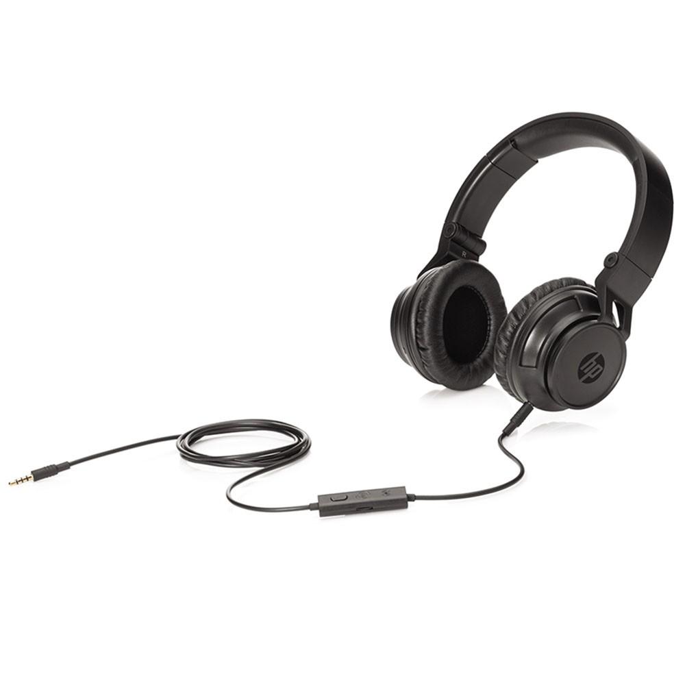 Fone de Ouvido H3100 com Microfone Preto H3100 (T3U77AA) - HP