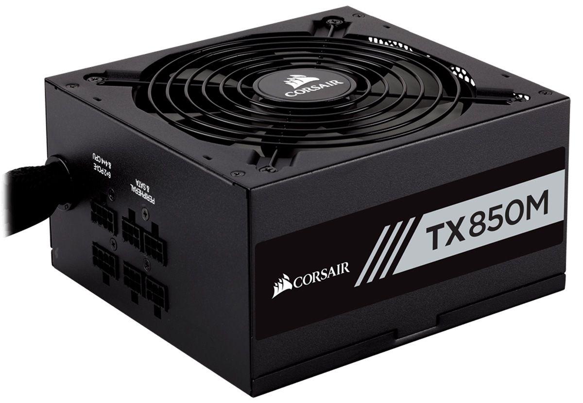 Fonte ATX 850W TX850M Semi Modular 80 Plus Gold (PFC Ativo) CP-9020130-WW - Corsair