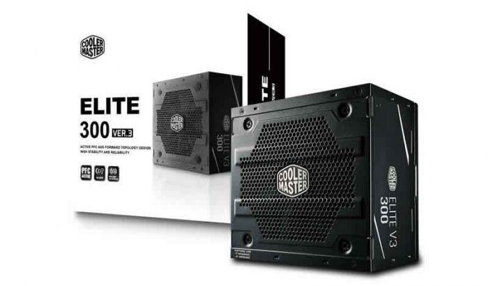 Fonte ATX Elite V3 PFC Ativo 300W MPW-3001-ACAAN1-WO - Coolermaster