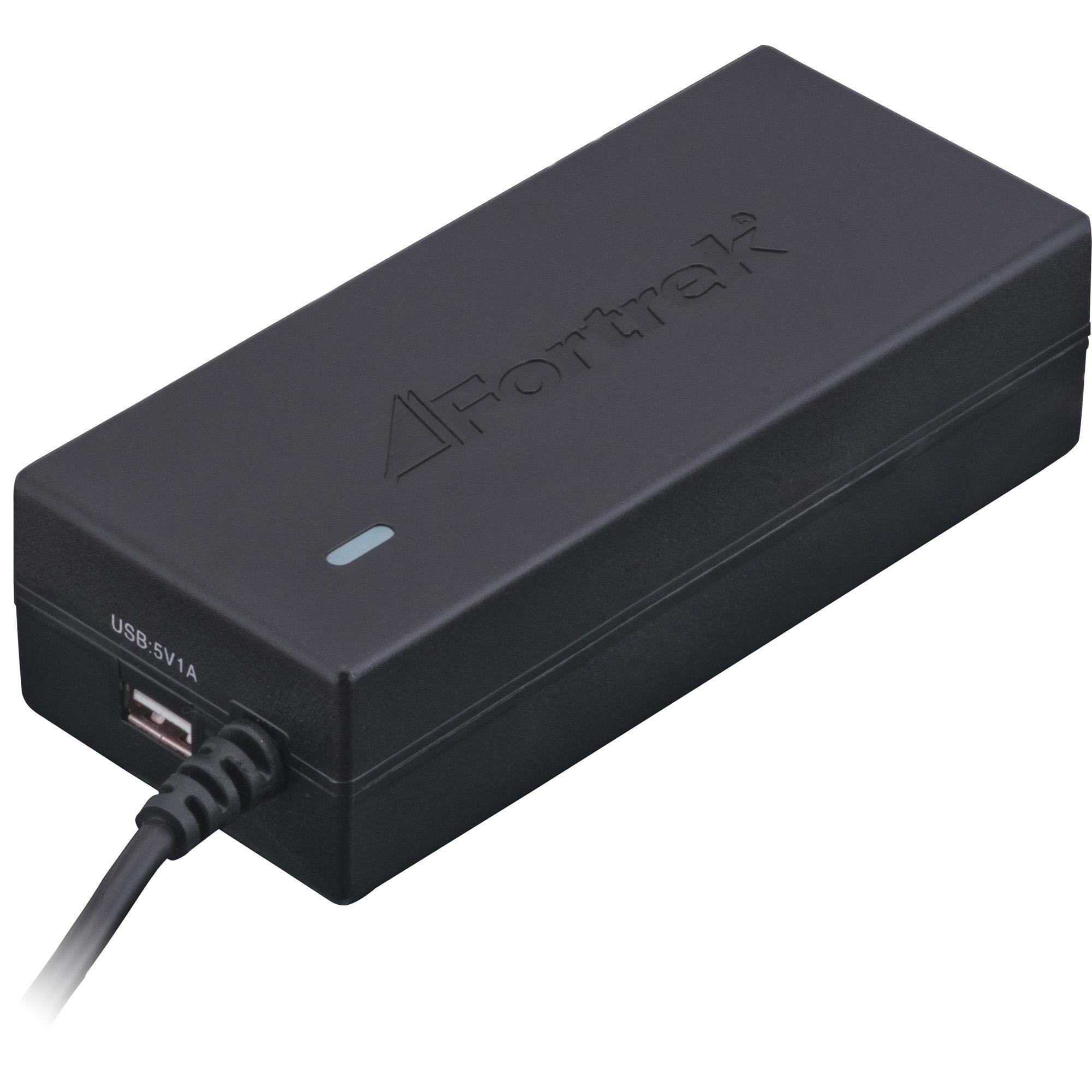 Fonte para Notebook Universal 90W com 10 Pinos Bivolt porta USB 5V 52369 - Fortrek