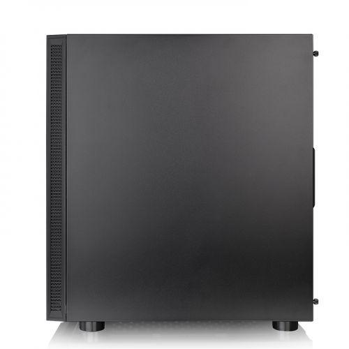 Gabinete ATX H200 TG  RGB Black (Vidro Temperado) CA-1M3-00M1WN-00 - Thermaltake