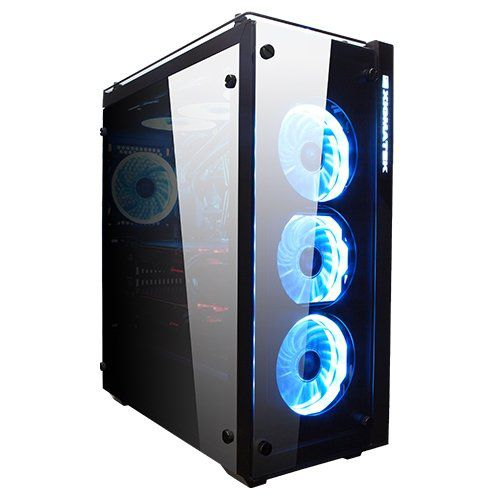 Gabinete gamer ATX Prosper EN9726 vidro temperado - Xigmatek