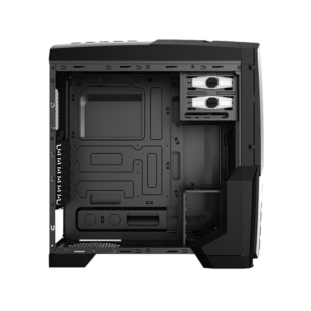 Gabinete Gamer Centauro Led Vermelho MCA-KU-855B/RD - Mymax