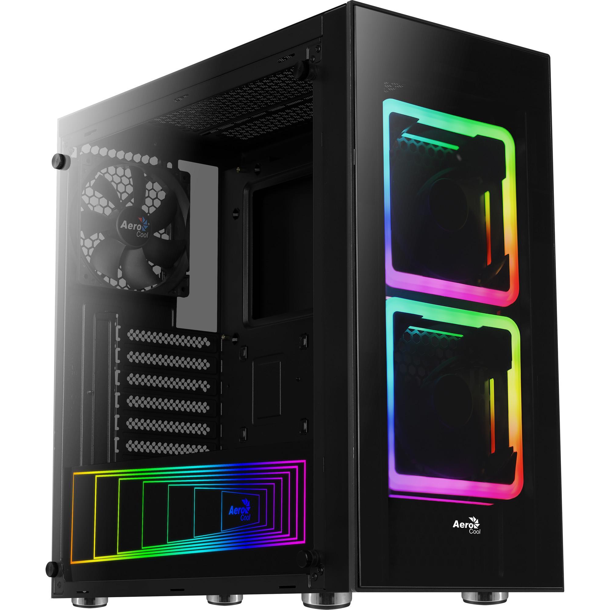 Gabinete Gamer Mid Tower Tor RGB 68506 - Aerocool
