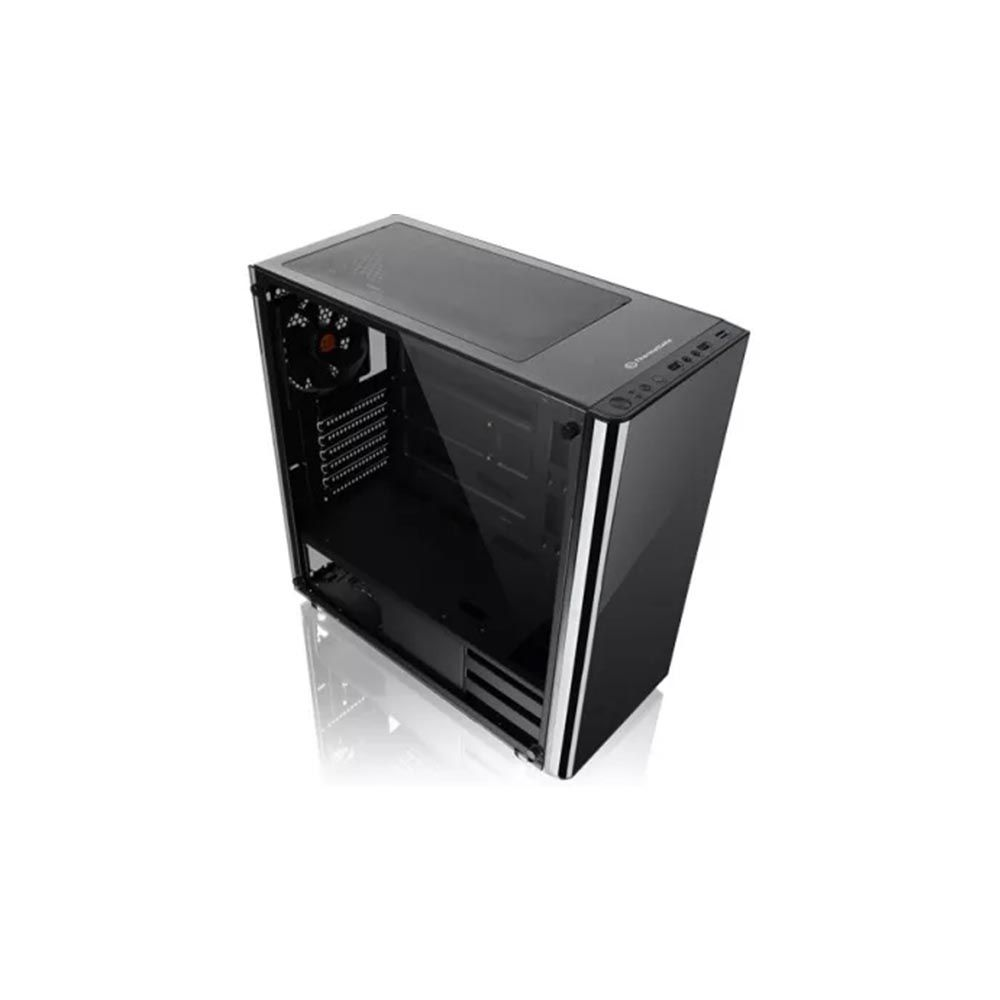 Gabinete Gamer V200 Mid TowerLateral em Vidro CA-3K8-50M1WZ-01 + Fonte de 500W White - Thermaltake