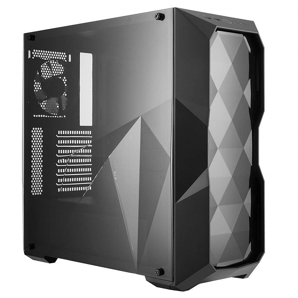 Gabinete Masterbox TD500L Preto Lateral em Acrílico MCB-D500L-KANN-S00 - Coolermaster