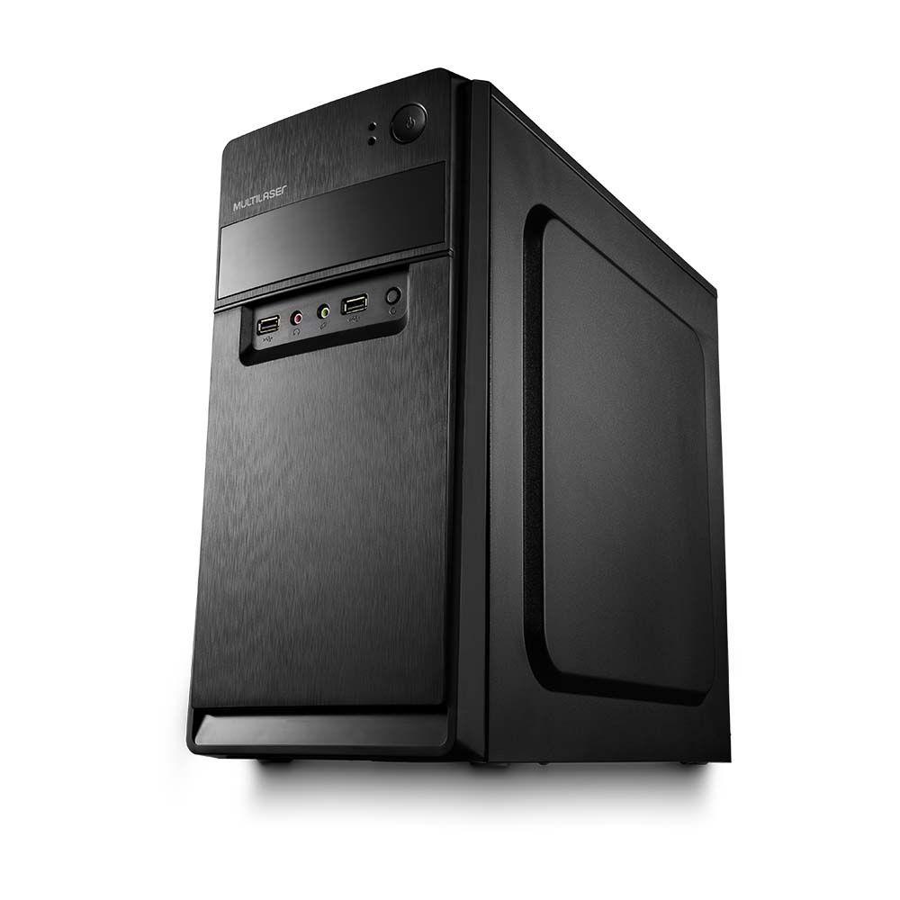 Gabinete Micro ATX Com Fonte 200W GA168 - Multilaser
