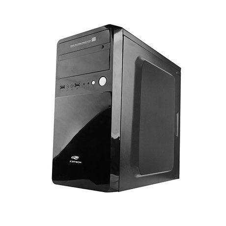 Gabinete Micro-ATX MT-22BK PS-200V3 U2HA (com Fonte de 200W) - C3 Tech