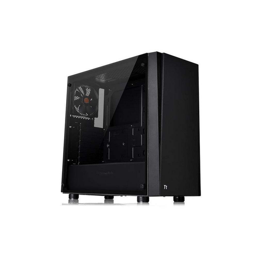 Gabinete TT Versa J21 C/Fonte 600W TG/PSTTP0600NPNWBZ-W/T.GLASS*1 CA-3K1-60M1WZ-00* - Thermaltake