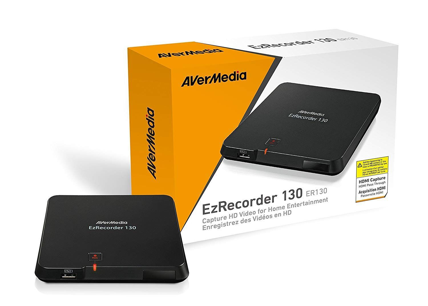 Gravador de Video e TV EZRecorder ER130 - Avermedia