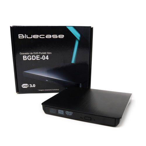 Gravadora de DVD Externa BGDE-04 - Bluecase