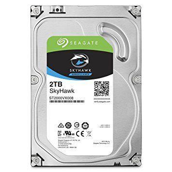 Hard Disk 2TB SkyHawk Surveillance 64MB Sata III ST2000VX008 (Vigilância) - Seagate