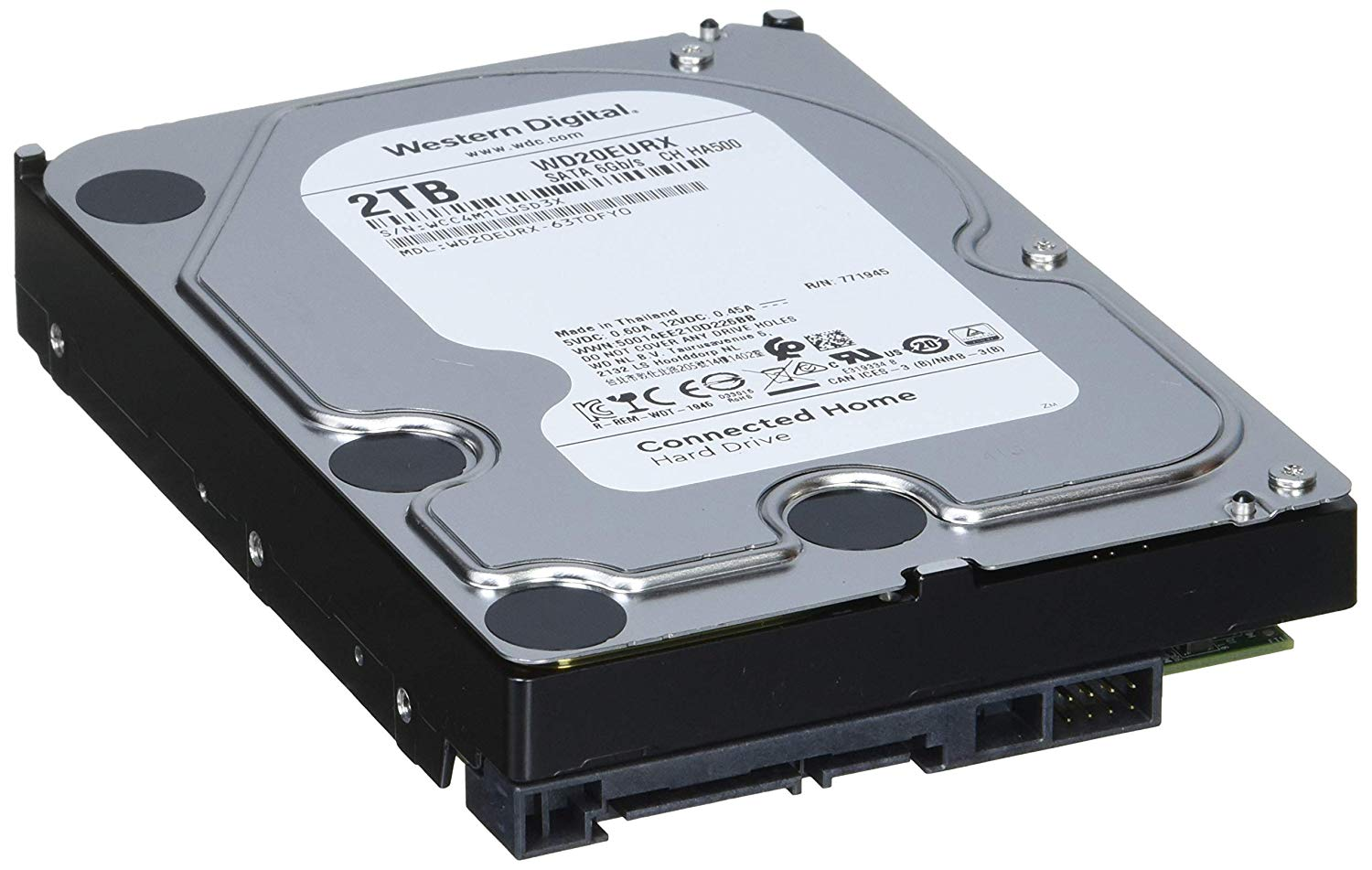 HD 2TB Intellipower 64MB WD20EURX 3,5 - Western Digital