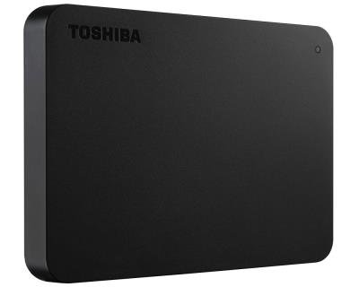 HD Externo 1TB USB 3.0 Canvio 2.5 Preto HDTB410XK3AA - Toshiba