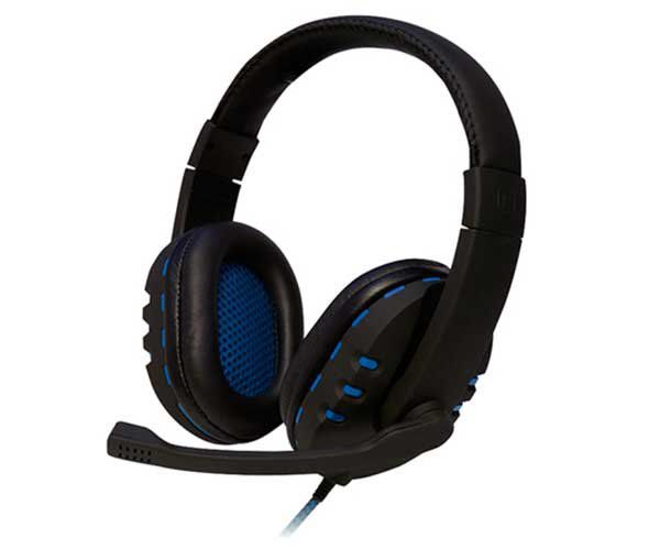 Headset Bit Preto/Azul HS206 - OEX