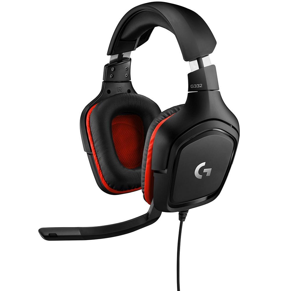 Headset Gamer G332, Mult-Plataforma, Stereo - Logitech